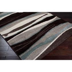 Woven Multicolored Oconto Geometric Stripes Accent Rug (2' x 3') - Thumbnail 1