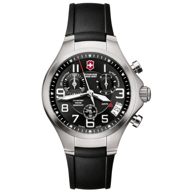 Victorinox Swiss Army Men's Base Camp Black Dial Chronograph Watch