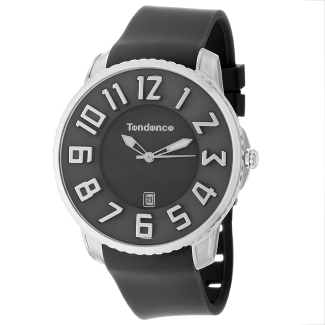 Tendence Men's 'Gulliver Slim' Stainless Steel Quartz Watch
