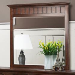 Alderson Warm Cherry Dresser and Mirror - Thumbnail 1