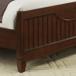 Alderson Warm Cherry Brown Cottage King-size Bed - Thumbnail 2