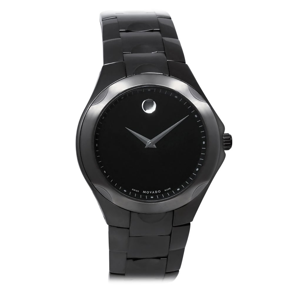 Movado Men's 0606536 Luno Sport Black Watch