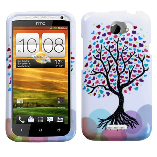 Premium HTC One X Love Tree Protector Case