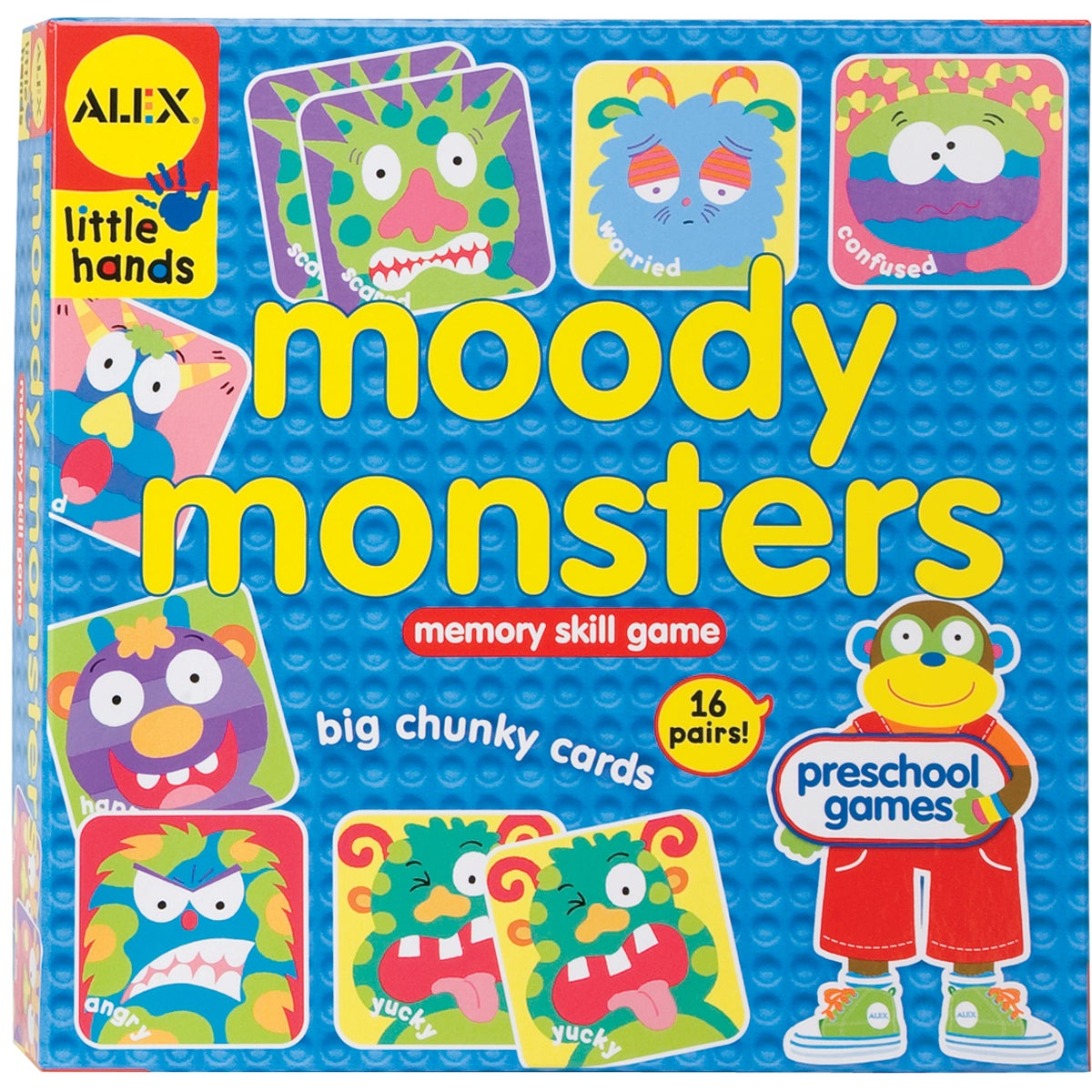 Alex Toys Moody Monsters Memory Game
