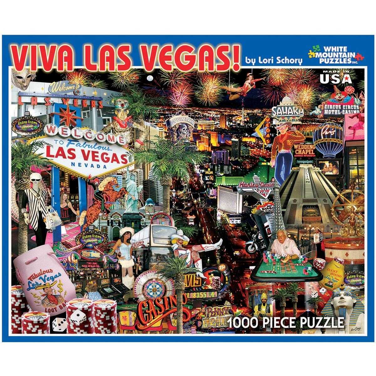 Viva Las Vegas 1000-piece Jigsaw Puzzle