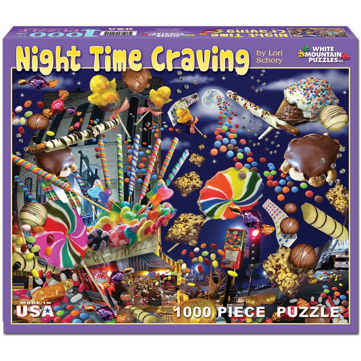 Night Time Craving 1000-piece Jigsaw Puzzle