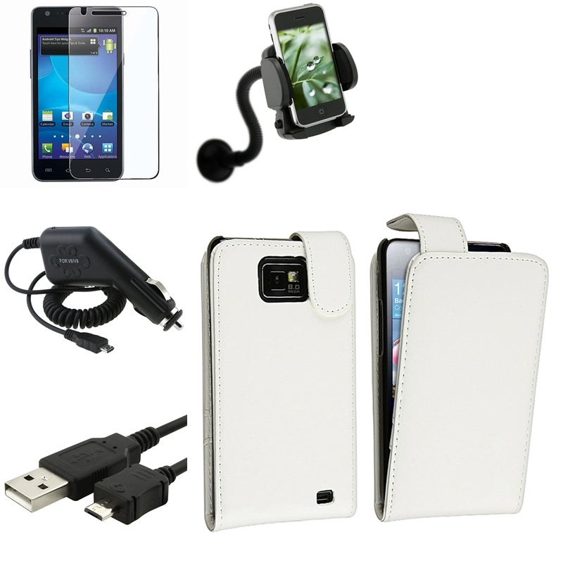 Case/ LCD Protector/ Charger/ Mount for Samsung Galaxy S II AT&T i777