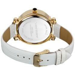 Vernier Women's Retro Wide Oval Dial Watch