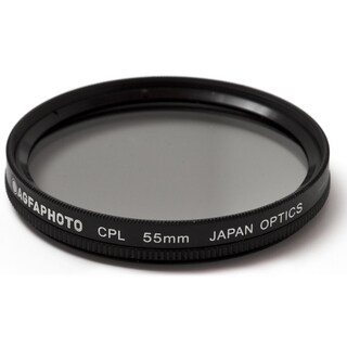 AGFA APCPL55 Polarizing Glass Filter (CPL), 55mm