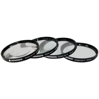 AGFA 4-Piece Close-Up Macro Multi Coated Filter Kit 52mm