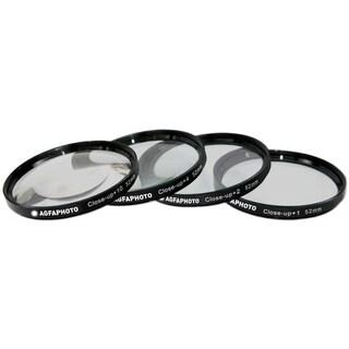 AGFA 4-Piece Close-Up Macro Multi Coated Filter Kit 52mm