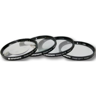 AGFA 4-Piece Close-Up Macro Multi Coated Filter Kit 72mm
