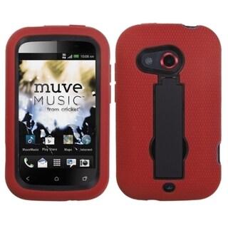 ASMYNA Black/ Red Case for HTC Desire C