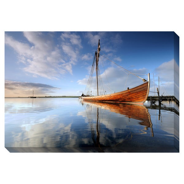 Gallery Direct Ship on the Ocean Oversized Gallery Wrapped Canvas