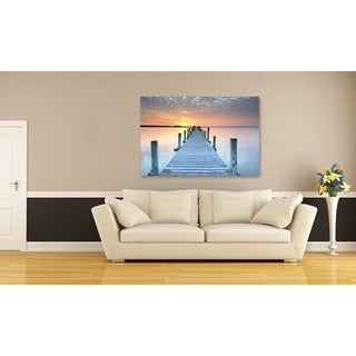 The Pier Oversized Gallery Wrapped Canvas