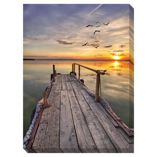 Gallery Direct Close of Day Oversized Gallery Wrapped Canvas