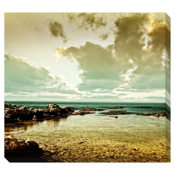 Gallery Direct Sea Landscape Oversized Gallery Wrapped Canvas