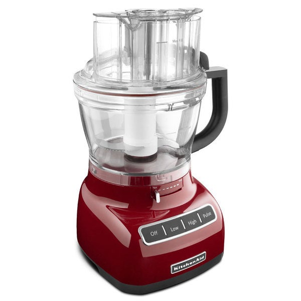 kitchenaid rkfp1333gc gloss cinnamon 13-cup food processor