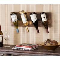 The Curated Nomad Roma Wall Mount Wine Storage Rack