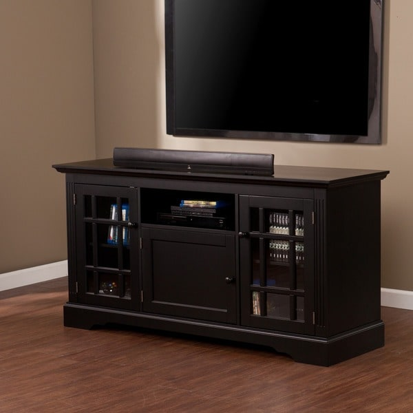 Upton Home Trevorton Black Tv Media Stand Free Shipping Today Overstock Com 15280476