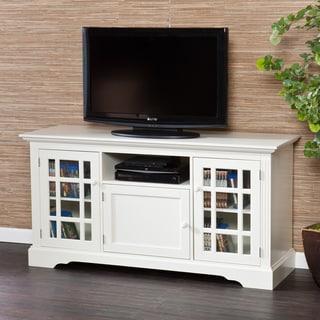 Harper Blvd Trevorton White TV Stand