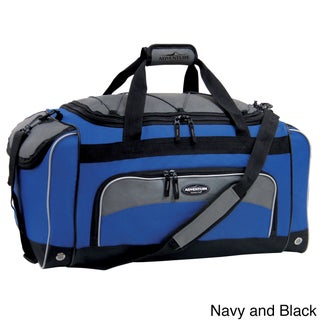 Traveler's Club Adventurer Duffel Collection 24-inch Sport Duffel with Wet Shoe Pocket