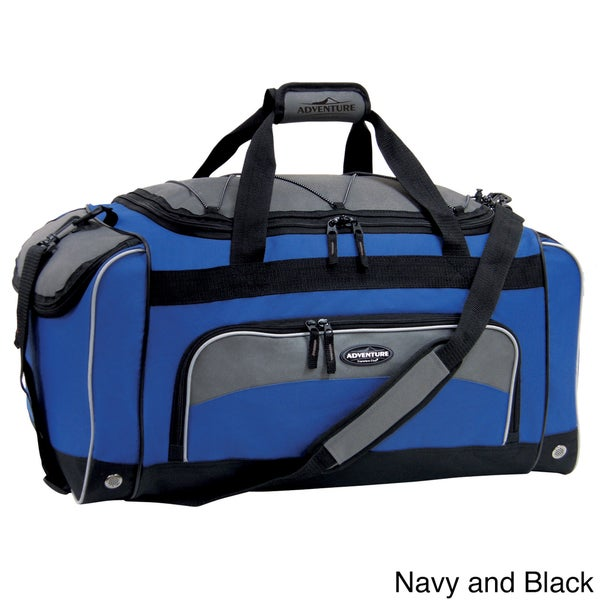 f78ac60032 Traveler  x27 s Club Adventurer Duffel Collection 24-inch Sport Duffel with  Wet