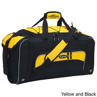 Traveler's Club Adventurer Duffel Collection 24-inch Sport Duffel with Wet Shoe Pocket (3 options available)