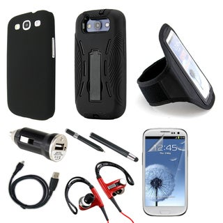GEARONIC 9-in-1 Bundle Kit for Samsung Galaxy S3/SIII