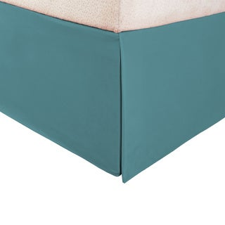 Superior Solid Microfiber Wrinkle-Resistant 15-inch Drop Bedskirt (More options available)