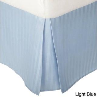 Microfiber Stripe 15-inch Drop Bedskirt