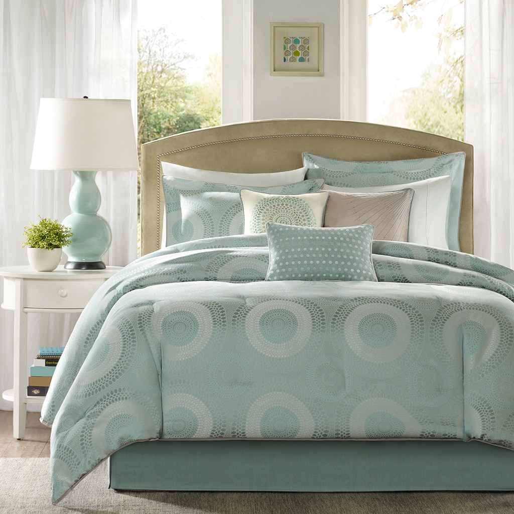 Madison Park Mason 7 Piece Comforter Set   Free Shipping On Orders Over $45    Overstock.com   9999915280605