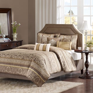 Madison Park Venetian 6-piece Coverlet Set (2 options available)