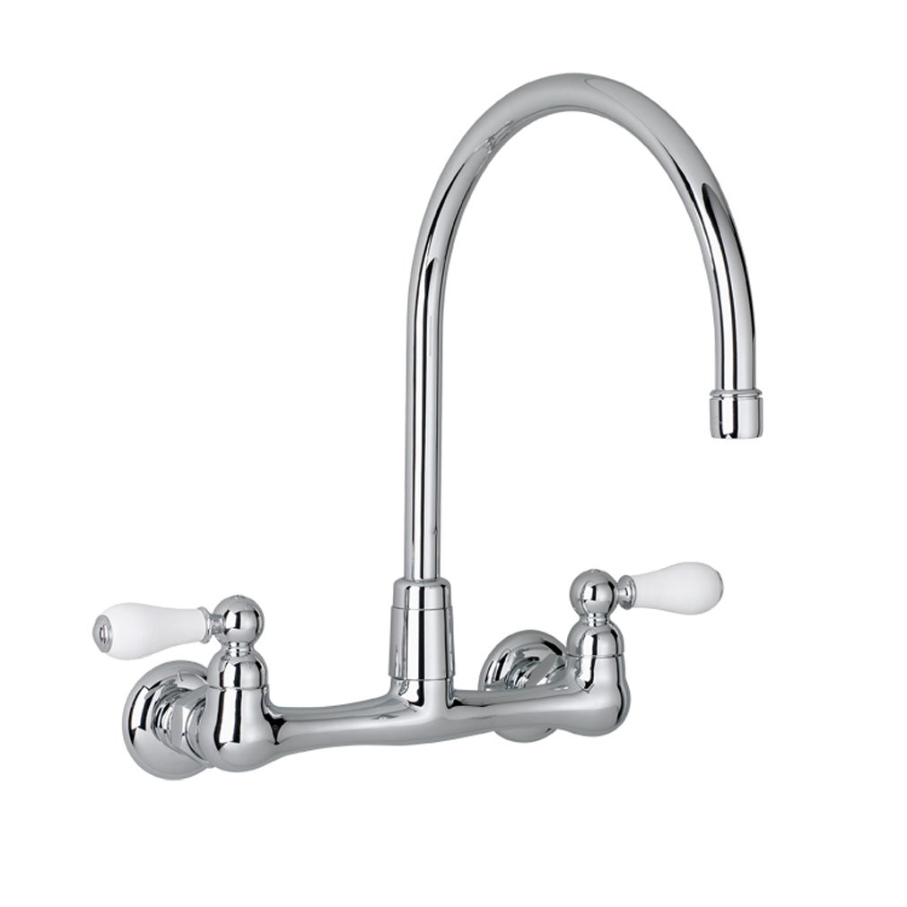 Handle Wall Mount Kitchen Faucet