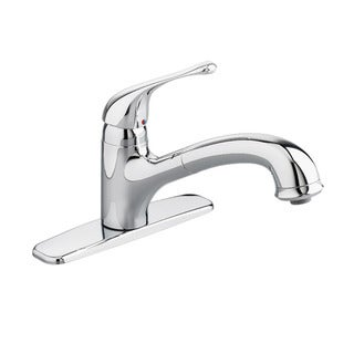 American Standard Colony Soft Single-Handle Pull-Out Polished Chrome Sprayer Kitchen Faucet