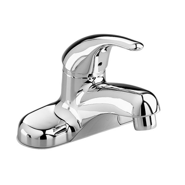 Shop American Standard Colony Soft 4 Inch Centerset 1 Handle Low Arc Bathroom Faucet In Polished