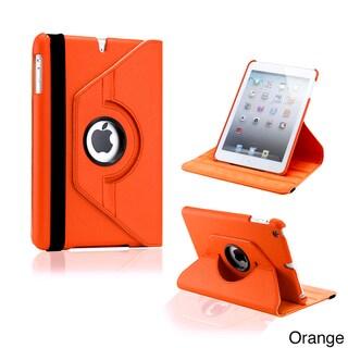 Gearonic 360-degree Rotating PU Leather Case Smart Cover Swivel Stand for iPad Mini/ Mini Retina/ Mini 3 Case