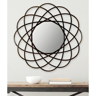 Safavieh Galaxy Warm Amber 32-inch Mirror