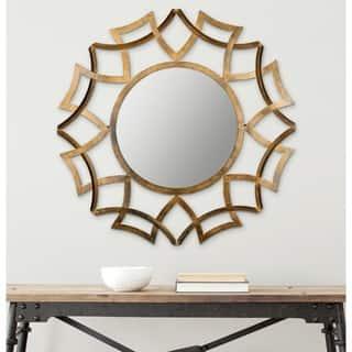 Safavieh Inca Antique Gold 35-inch Sunburst Mirror https://ak1.ostkcdn.com/images/products/7900651/P15281465.jpg?impolicy=medium