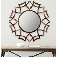 Safavieh New Mayan Star Warm Amber Urban 36 Inch Mirror