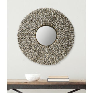 Safavieh Jeweled Chain Link Natural 24-inch Mirror