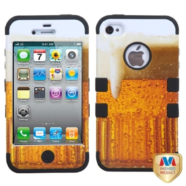 MYBAT Beer Hybrid Case for Apple iPhone 4/ 4S
