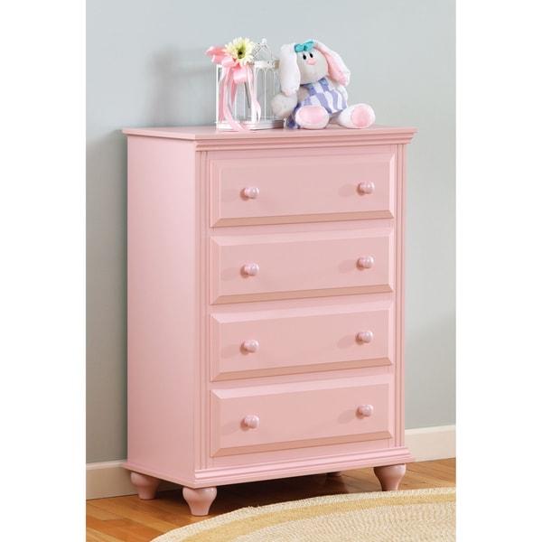 Lang Furniture Pink 4-drawer Chest