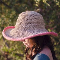 6b81e7edd095e Shop Handmade Sea Grass Crochet Summer Hat (Indonesia) - Free ...