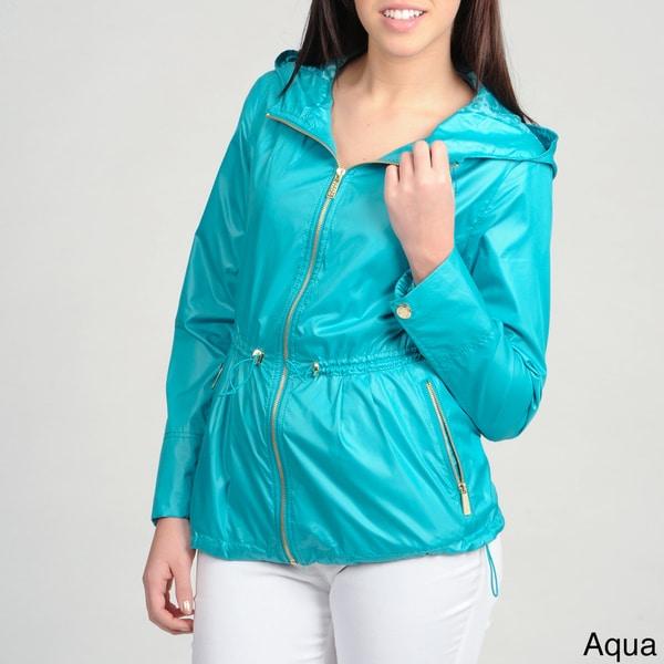 Ivanka Trump Women's Double Drawstring/ Hooded Anorak Jacket
