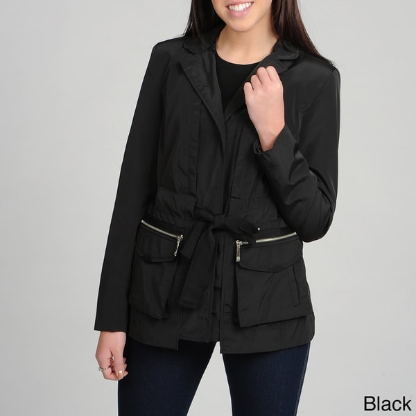 Vince Camuto Women's Notched Collar/ Belted Jacket