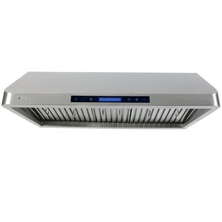 XtremeAir 42-inch 900 CFM Steel Under Cabinet Mount Range Hood