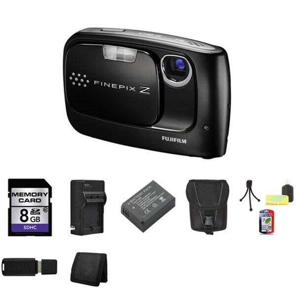 Fujifilm FinePix Z30 10MP Digital Camera with 8GB Bundle