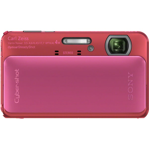 Sony Cyber-shot DSC-TX20 16.2MP Pink Digital Camera