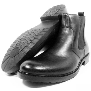 Ferro Aldo Men's Suedette Mid-calf Desert Boots